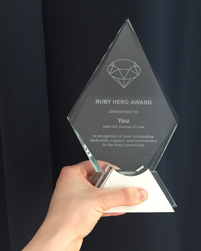 Your Ruby Hero Award