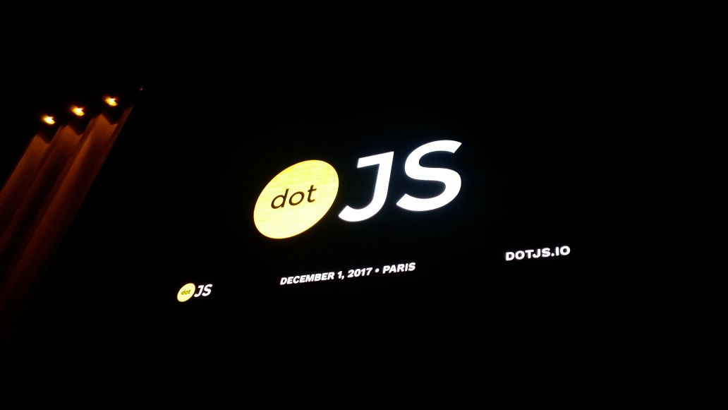 Team Bundledore at dotJS 2017