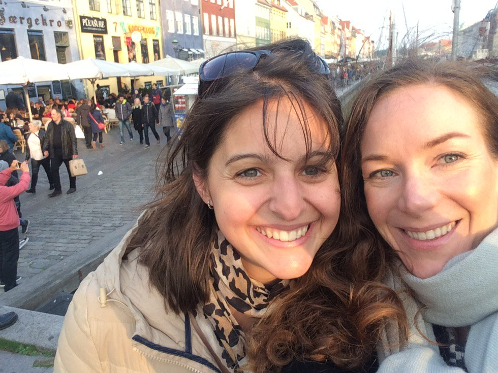 Inês and Kara in Copenhagen