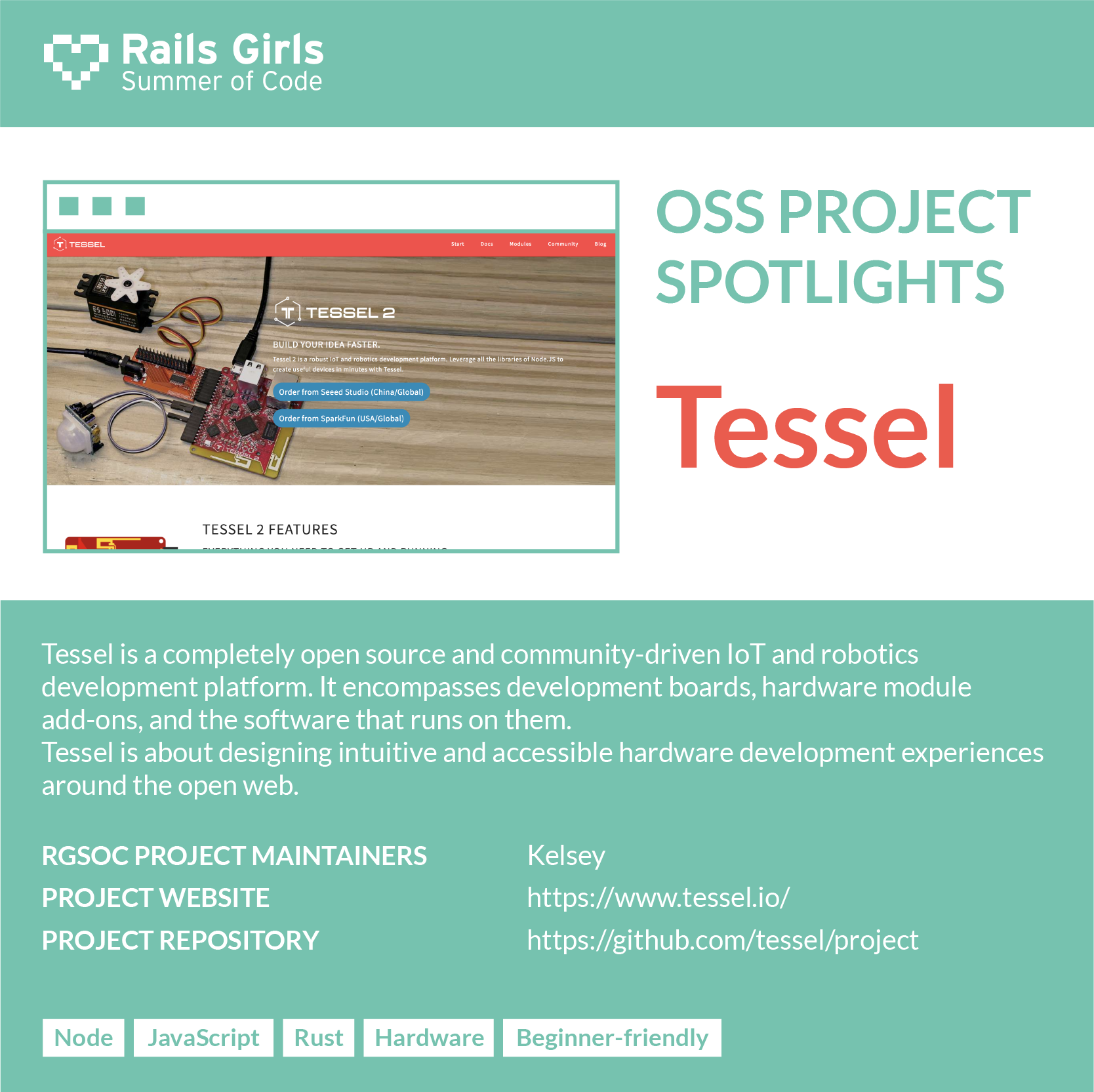 OSS Project Spotlight: Tessel