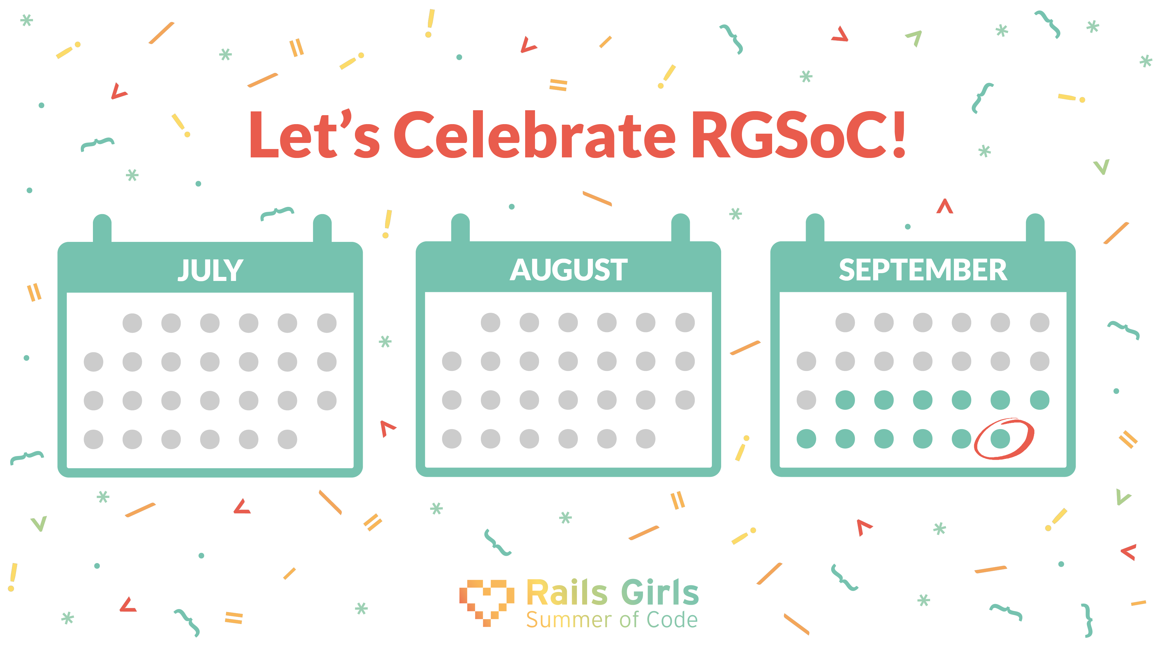 Let's celebrate RGSoC 2018 all over the world!