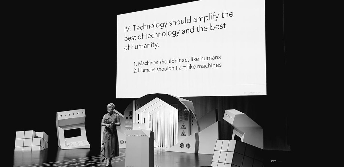 Amplify the best of technology and the best of humanity